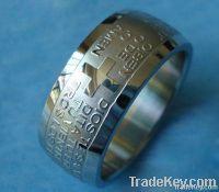 2012 New Style cross Titanium rings