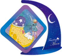 Magnetic Rotary Puzzle Kits - Moonwalk