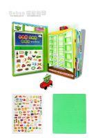 Food Supermarket - Railcar Magnetic Game Book