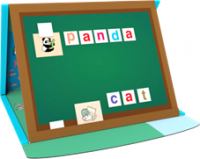 Family English Teacher Magnetic Game Book