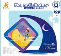 Magnetic Rotary Puzzle Kits - Moonwalk