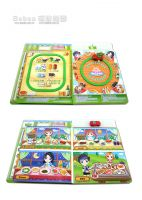 Food Supermarket - Railcar Magnetic Game Book