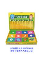Multiplication Table Vocal Puzzle Sound Box