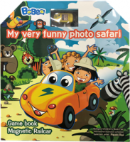 DIY Funny Magnetic Cars Toys  Book