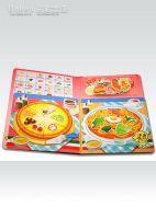 Food Magnetic Game Book