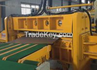 steel coil swinging cut To Length Line