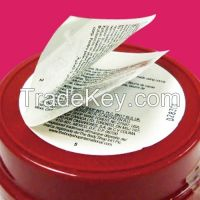 Peel and read label