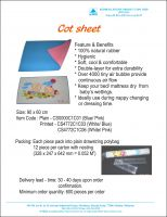 Cot Sheet, Exercise Band, Fast Cap, Latex Cap, Silicone Cap