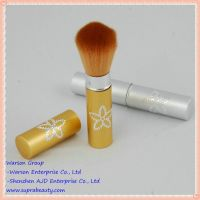 Top quality goat hair professional cosmetic powder brush