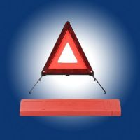 warning triangle, traffic triangle , reflective triangle