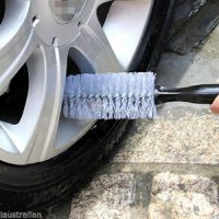 Auto Wheel Brush Detailing Tire Rim Vehicle Motocycle Cleaning Tyre Household