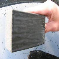 NanoSkin AutoScrub clay sponge
