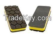Dual use car washing square magic clay pad