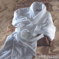 100% cotton bath robe