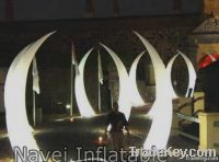 Light party decoration Inflatable tusk