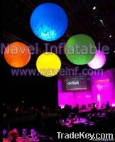 Inflatable lighting decoration balloon