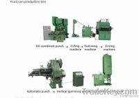 Aerosol spray can production line