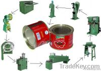food drink tin can making machine