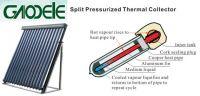 Split Pressurized Thermal Collector
