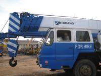 Used TADANO truck crane TG-550