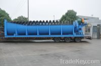 high capacity low cost Spiral classifier for gold mining