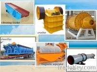 quality guaranteed Beneficiation Production Line / benefication machin