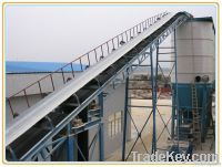 Compact Rubber Belt Conveyor (with motor and speed control)