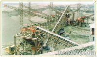 belt conveyor for sawdust, charcoal, briquettes, pellets, etc.
