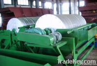 magnetic separator for dry separation