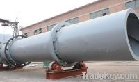 Rotary drum dryer for coal mill