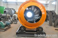 rotary dryer for drying slurry