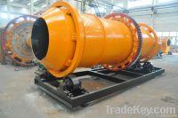 horizontal rotary dryer