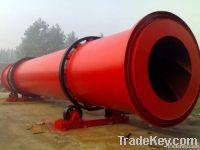 High Capacity rotary dryer from shanghai