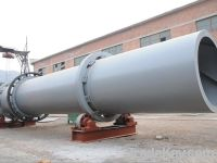 Cement rotary dryer With Capacity 300t/d