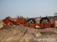 xs series sand washer / wheel type sand washer / large sand washer