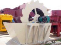 bucket wheel sand washer / sand washer for sale
