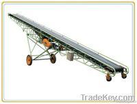 endless rubber conveyor belt / movable belt conveyor system