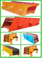 metallurgy vibration screen / single deck sand vibrating screen / circular stone vibrating screen