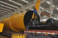 counter current rotary dryer / mechanical design rotary dryers / rotary drum sawdust dryer