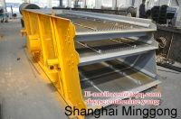 mini vibrating screen / vibrating screen for food industry / single deck sand vibrating screen