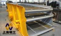 vibrating mesh screen / gravel mining vibrating screen / wet material vibrating screen