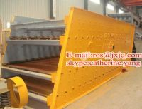 food vibrating screening machine / 3 layer vibrating screen / slurry vibrating screening machine