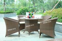 Outdoor Cube Rattan Sofa Set