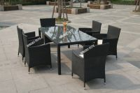 Outdoor Cube Rattan Sofa Set