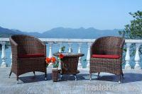 Wicker Rattan Sofa Set