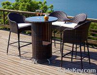 Rattan Bar sofa Set
