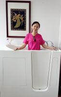 Personal Tailor walk in bathtub for bathroom or Garden SPA pool