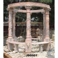 stone carving gazebo