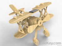 Solar Wooden Airplane