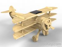 Solar Wooden Fighter Plane